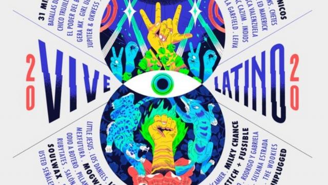 Vive Latino anuncia su cartel 2020