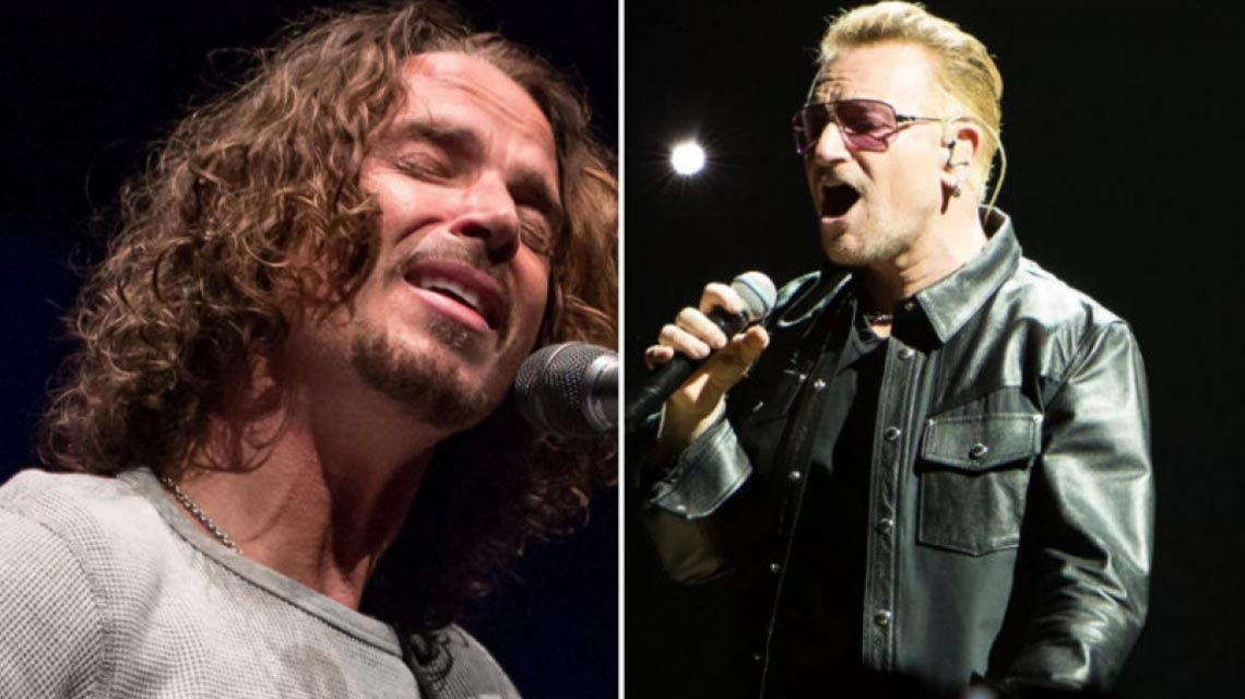 U2 homenajean a Chris Cornell