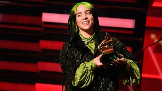 Billie Eilish y los ganadores de los GRAMMYs 2020