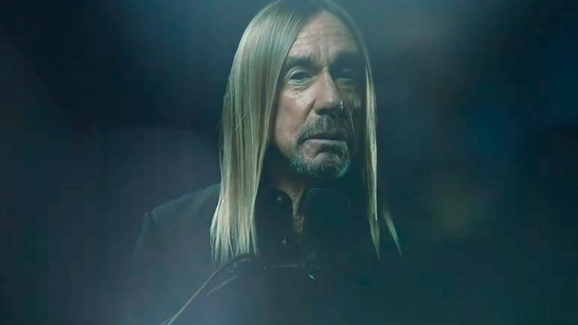 Iggy Pop estrena su video para la canción 'James Bond'