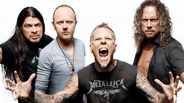 Metallica, rumbo a su gira por Latinoamérica