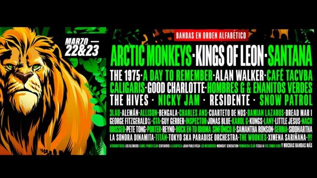 Pa'l Norte 2019 anuncia sus bandas por día
