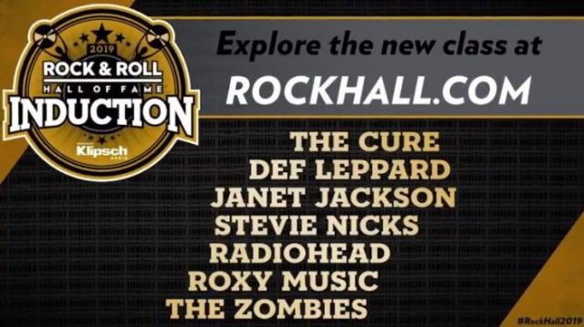 The Cure, Def Leppard y Radiohead, al Salón de la Fama del Rock