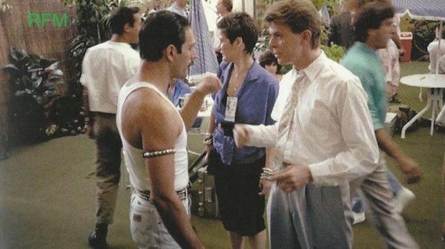 Revelan que Freddie Mercury y David Bowie hicieron más música juntos