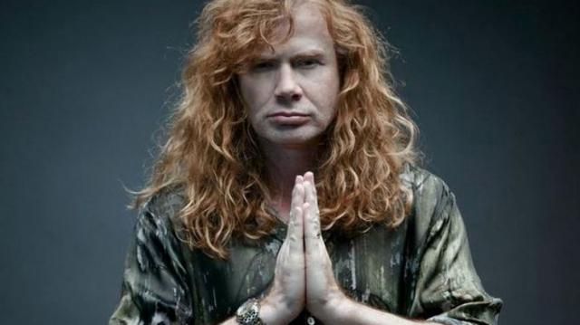 Dave Mustaine prepara nuevo disco de Megadeth