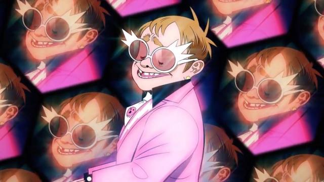 Gorillaz y Elton John se unen en 'The Pink Phantom'