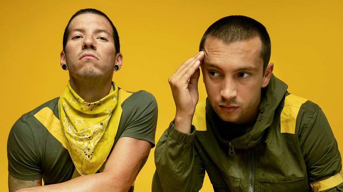 Twenty One Pilots se corona como el rey de Spotify con 'Blurryface'