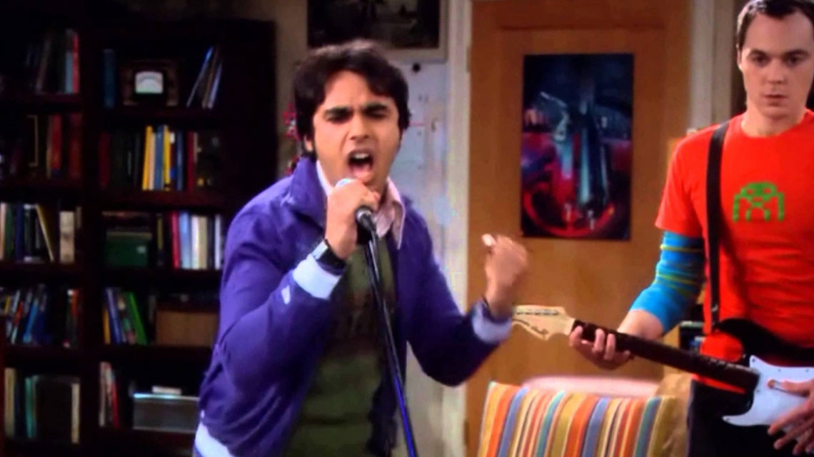 The Big Bang Theory y su cover a Red Hot Chili Peppers