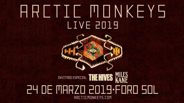 Todo listo para Arctic Monkeys en Ciudad de México