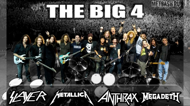 Dave Mustaine buscará unir a The Big 4 antes de que Slayer se retiren