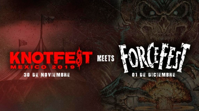 Slipknot confirman Knotfest Meets Force Fest en Ciudad de México