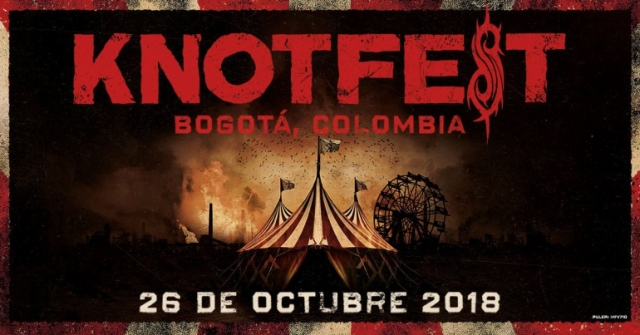 Knotfest Colombia ya tiene cartel confirmado