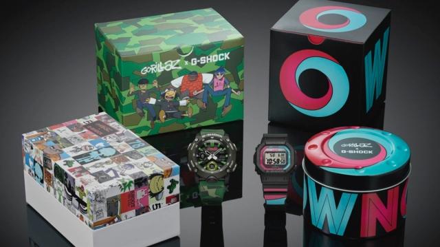 Gorillaz lanzan su nueva colaboración con G-Shock