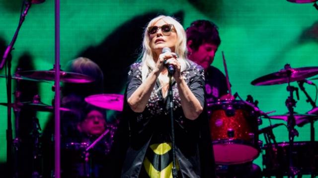 Blondie se alistan para su recital en Buenos Aires