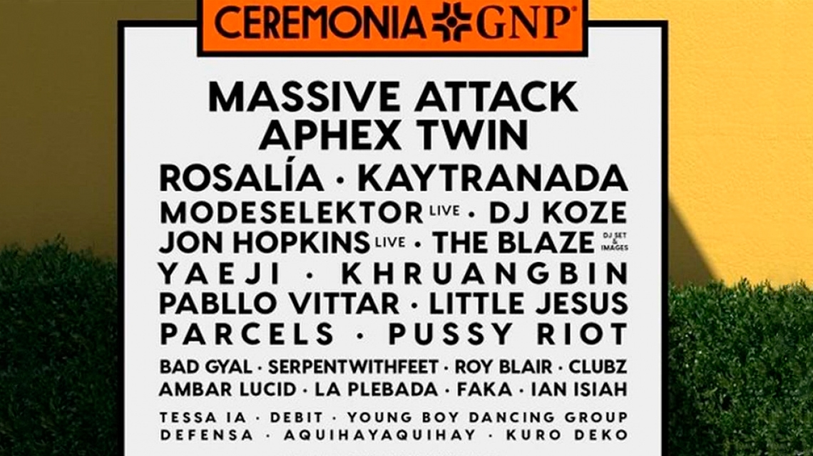 Ceremonia 2019 agrega a Aphex Twin