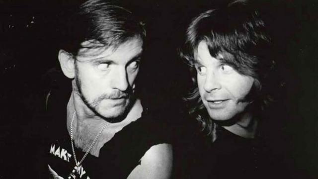 Ozzy Osbourne revela los últimos minutos con vida de Lemmy Kilmister