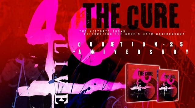 The Cure y el éxito de '40 LIVE CURÆTION - 25 + ANNIVERSARY'
