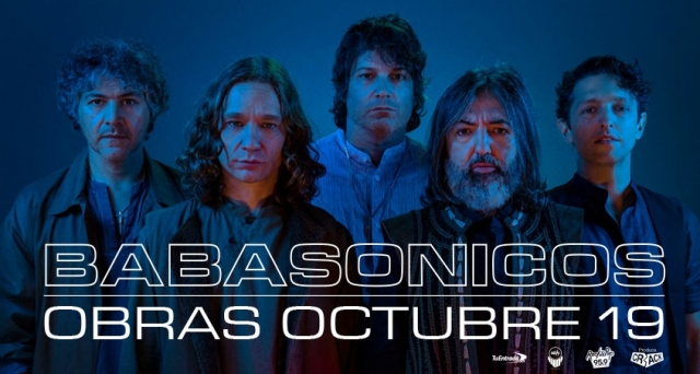 Babasónicos, listos para su recital en Obras