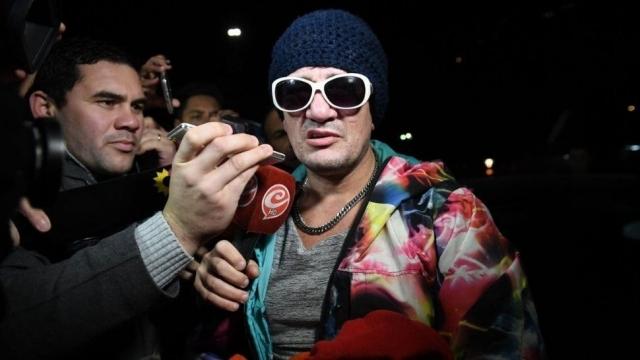 'Pity' Álvarez se entrega a las autoridades