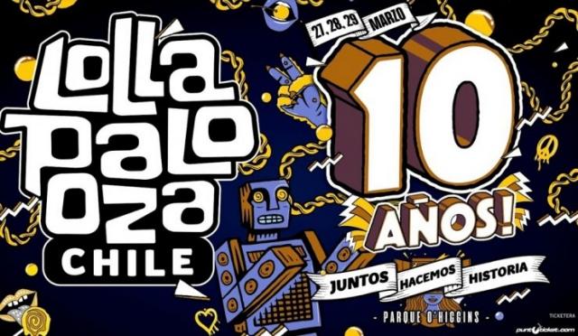 Lollapalooza Chile anuncia su edición 2020