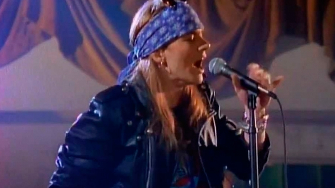 Guns N' Roses, a 31 años de 'Sweet Child O' Mine'