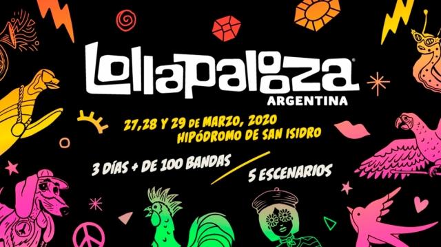 Lollapalooza Argentina 2020 prepara su grilla