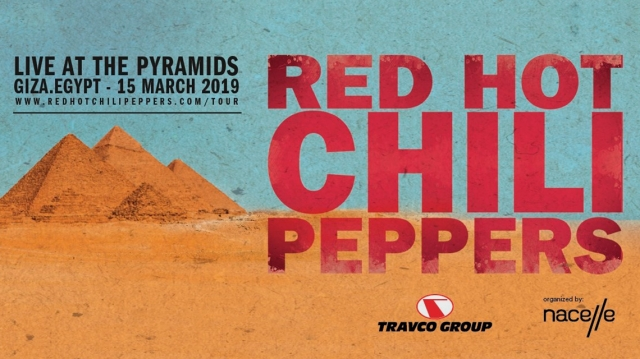 Red Hot Chili Peppers tocarán en la gran pirámide de Giza
