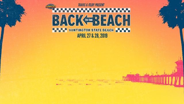 Back To The Beach anuncia su cartel 2019