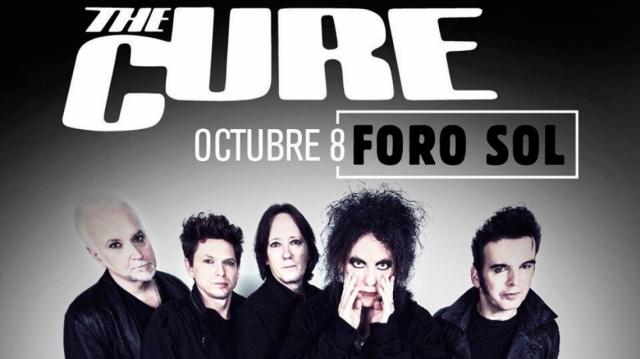 The Cure anuncian show en Ciudad de México