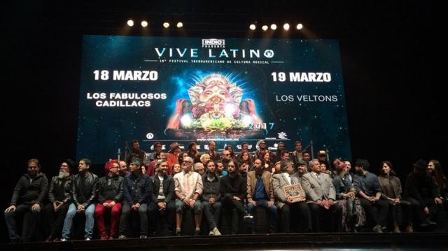 Vive Latino 2017 presentó oficialmente su cartel