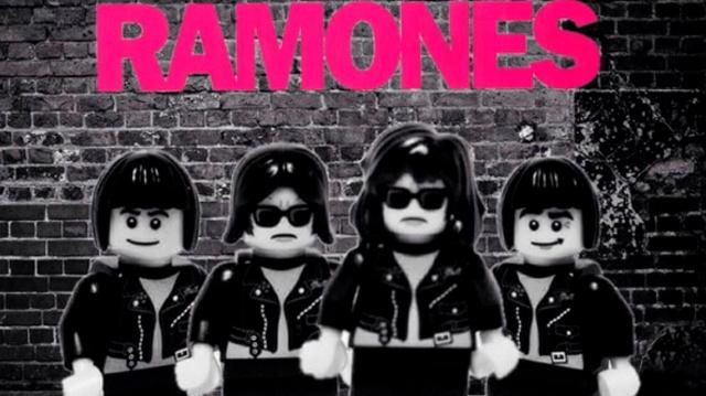 The Ramones volverían en forma de Lego