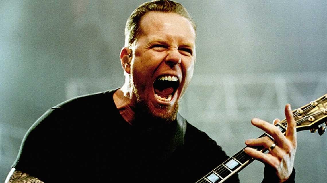 Cambio de rumbo: el cantante de Metallica debuta como actor