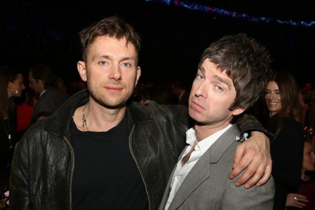 """""""Noel Gallagher es el único que me entiende"""": Damon Albarn"""
