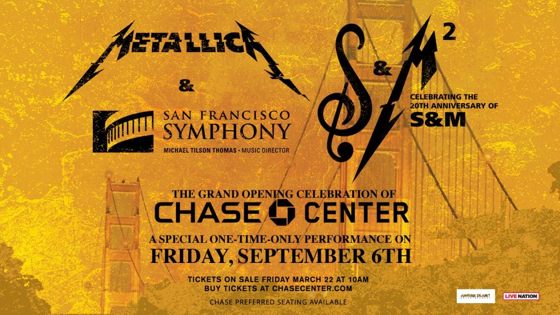 Metallica celebrará el 20 aniversario de