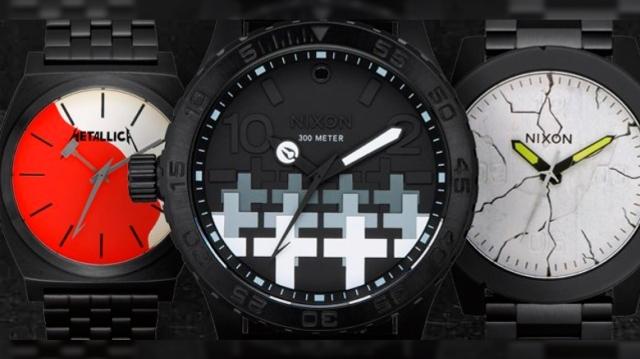 Metallica lanzan su colección oficial de relojes