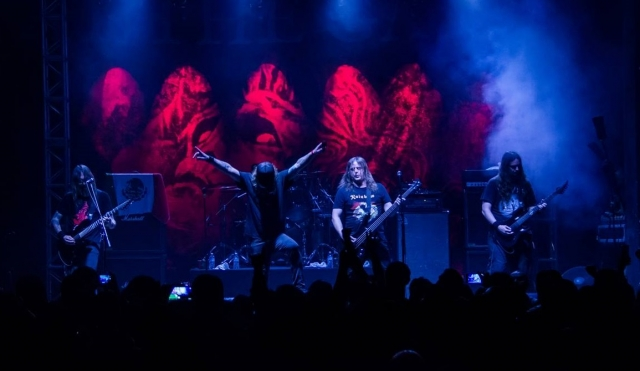 At The Gates y su gran show en el Circo Volador