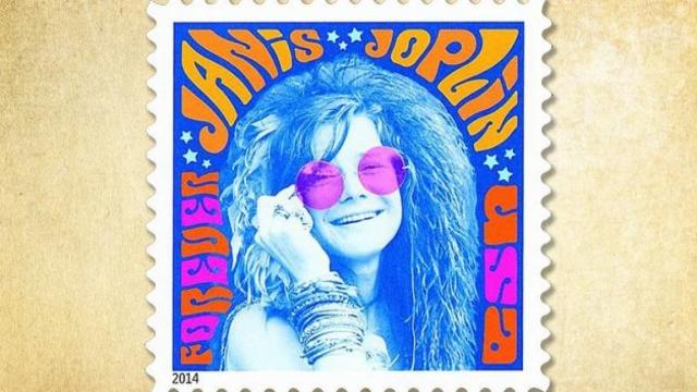 Janis Joplin, homenajeada en sello postal