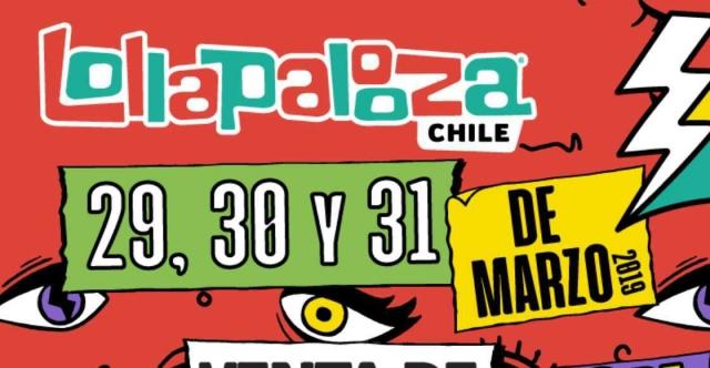 Así sería Lollapalooza Chile 2019