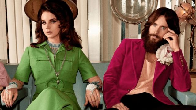Lana Del Rey y Jared Leto protagonizan lo nuevo de Gucci