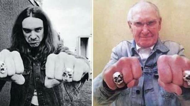 Murió el papá de Cliff Burton de Metallica