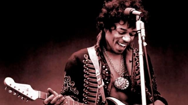 Jimi Hendrix, el considerado mejor guitarrista de la historia