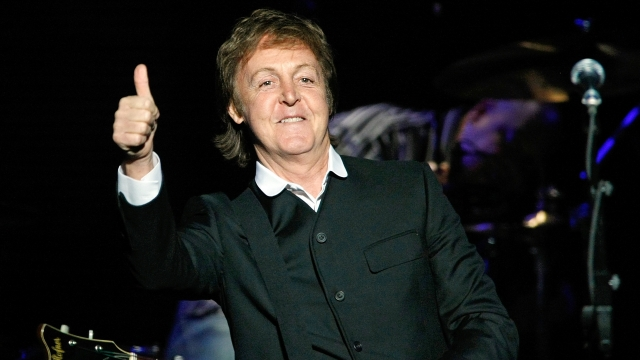 Lista la nueva gira de Paul McCartney