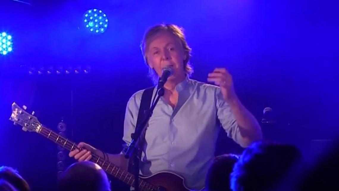 Paul McCartney vuelve al club donde nacieron los Beatles