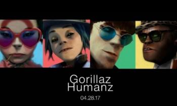 Gorillaz, listos para el lanzamiento de 'Humanz'