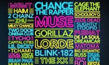 Muse, Gorillaz, The XX y blink-182 encabezarán Life Is Beautiful 2017