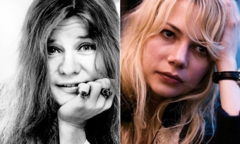 Michelle Williams sigue alistándose como Janis Joplin en nueva cinta