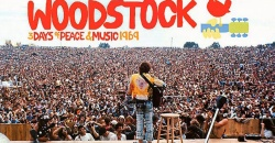 50 años del inicio del festival Woodstock