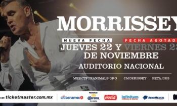Morrissey, listo para su regreso a Ciudad de México