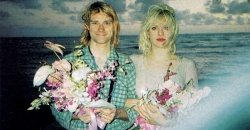 Kurt Cobain y Courtney Love, a 25 años de su boda