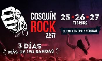 Todo listo para Cosquín Rock 2017
